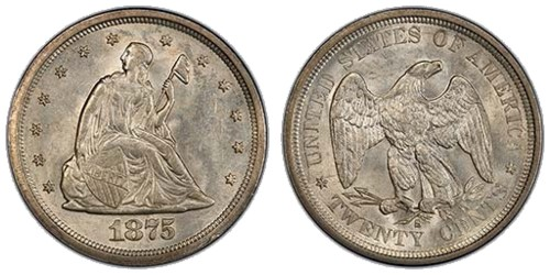 Seated Liberty Twenty-cent Piece