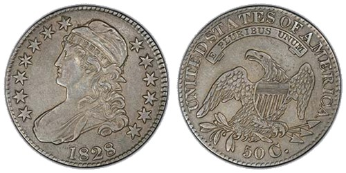 Capped Bust Half Dollar