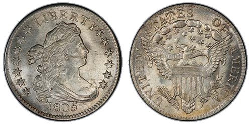 Draped Bust Dime